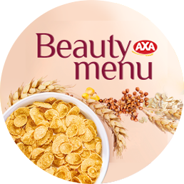 AXA Beauty Menu multigrain flakes are your special beauty secret
