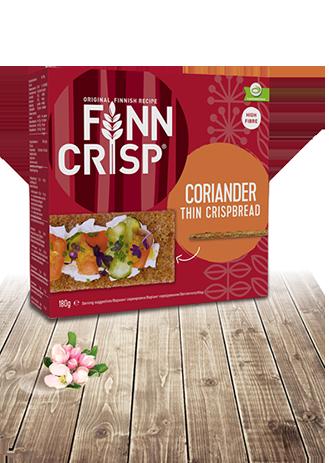 FINN CRISP Thin Crispbread Coriander