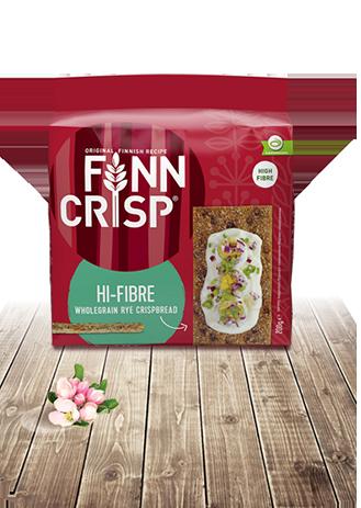 FINN CRISP Hi-fibre хлібці житні цільнозернові традиційні з житніми висівками