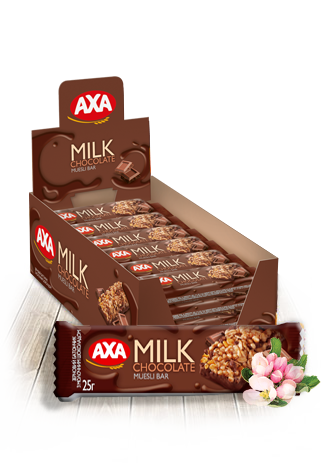 Зерновой батончик с молочным шоколадом