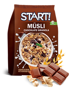 START! Honey Muesli with chocolate