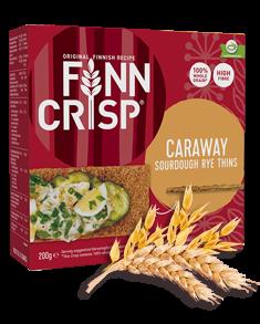 FINN CRISP Thin Crispbread Caraway-Kummin