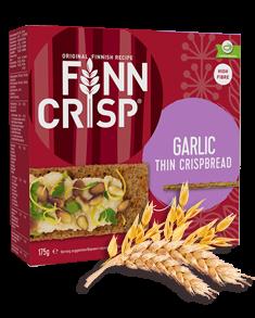 FINN CRISP Thin Crispbread Garlic