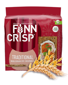 FINN CRISP Хлібці житні цільнозернові традиційні