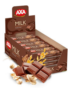 AXA milk chocolate cereal bar