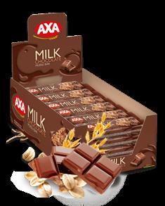 AXA milk chocolate cereal bar